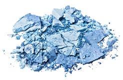 Ombre d'oeil bleu cassée Image stock