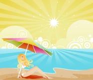 Ombre d'été Photographie stock libre de droits