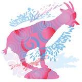 Ombre d'une chèvre Image libre de droits