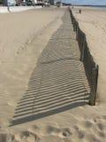 Ombre d'une frontière de sécurité Photo libre de droits