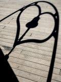 Ombre de l'amour Image stock