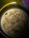 Ombre de la lune Photos libres de droits