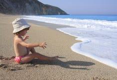 ombre de sable photographie stock libre de droits