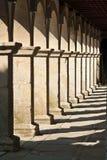 Ombre degli archi Fotografia Stock
