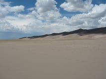 Ombre della duna Immagine Stock