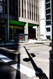 Ombre di Chicago fotografia stock