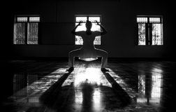Ombre di Yogy Fotografia Stock Libera da Diritti