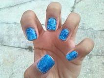 Ombre nail art Stock Photos