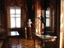 Ombre nel palazzo di marmo Fotografia Stock