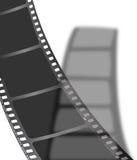 Ombre noire de film Images libres de droits
