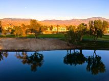 Ombre Ridge Palm Desert California de Marriott de lever de soleil photos libres de droits