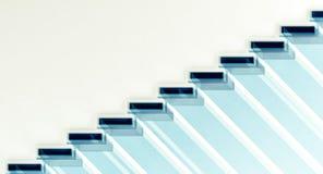 Ombre sous des escaliers illustration stock
