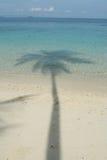 Ombre sur la mer Photographie stock libre de droits