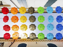ombrelli fotografie stock
