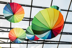 Ombrelli - arte Fotografia Stock Libera da Diritti