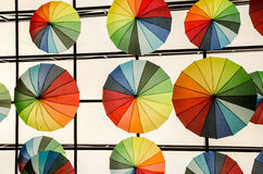 Ombrelli - arte Immagine Stock