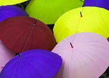 Ombrelli Colourful Immagine Stock Libera da Diritti