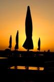 Ombrelli della lampadina Immagini Stock
