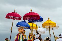 Ombrelli di cerimonia Fotografie Stock