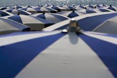 Ombrelli in estate Immagini Stock Libere da Diritti