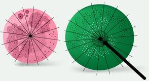 Ombrelli giapponesi royalty illustrazione gratis