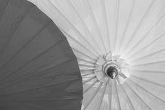 Ombrelli tailandesi Fotografia Stock