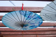 Ombrello cinese Immagini Stock Libere da Diritti