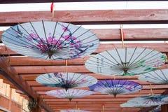 Ombrello cinese Fotografie Stock Libere da Diritti