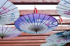 Ombrello cinese Immagini Stock