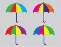 Ombrello Colourful illustrazione vettoriale