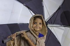 Ombrello del bambino Fotografia Stock Libera da Diritti