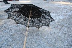 Ombrello del merletto Fotografia Stock Libera da Diritti