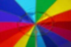 Ombrello di spiaggia astratto Fotografia Stock Libera da Diritti