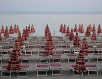 Ombrello di spiaggia colorato Fotografie Stock Libere da Diritti