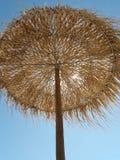 Ombrello di spiaggia di estate fotografie stock libere da diritti
