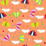 Ombrello ed amore Fotografie Stock