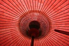 Ombrello giapponese Immagini Stock Libere da Diritti