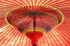 Ombrello giapponese Immagine Stock