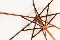 Ombrello a manico lungo di bambù Fotografia Stock