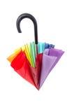 Ombrello Multi-colored Fotografie Stock Libere da Diritti