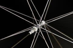 Ombrello nero Fotografie Stock Libere da Diritti