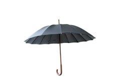 Ombrello nero Fotografia Stock