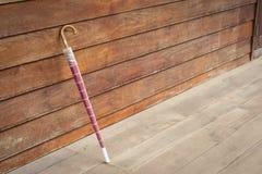 Ombrello rosa Fotografie Stock Libere da Diritti