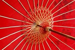 Ombrello rosso Fotografia Stock Libera da Diritti