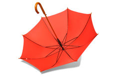 Ombrello rosso Fotografie Stock Libere da Diritti