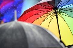 Ombrello variopinto Fotografia Stock Libera da Diritti