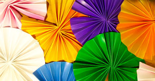 Ombrello variopinto Immagini Stock Libere da Diritti