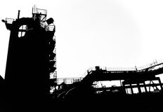 Ombres 1 d'industrie Photo stock