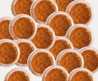 Ombres d'oeil oranges Photographie stock libre de droits