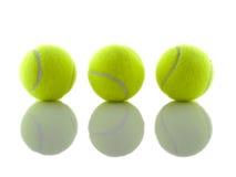 Ombres de bille de tennis Images stock